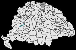 Sáros County - Image: Saros