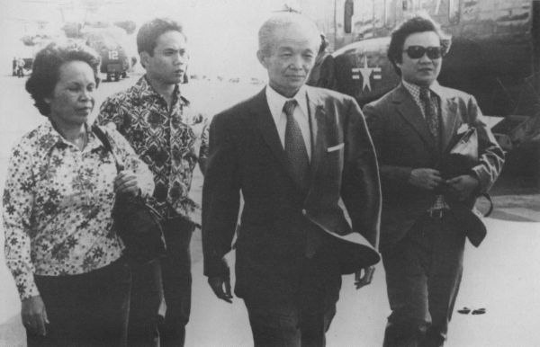 Saukham Koy arrives on USS Okinawa