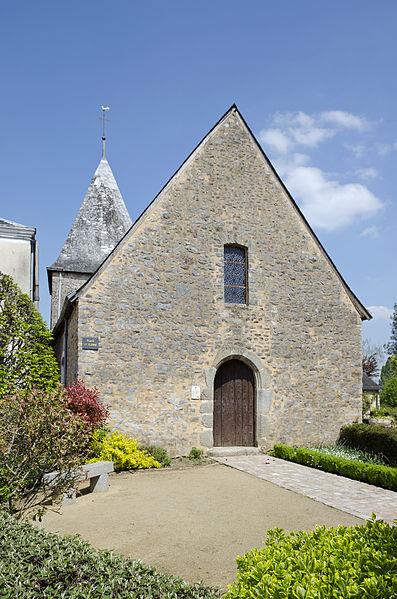 Église Saint-Pierre de Saulges, Mayenne.
