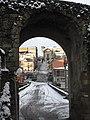 Scalinata dei Cappuccini attraverso la porta di San Martino.jpg