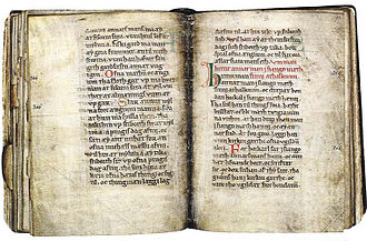 Vernacular - The oldest known vernacular manuscript in Scanian (Danish, c. 1250.) It deals with Scanian and Scanian Ecclesiastical Law.