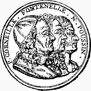 Académie des sciences, belles-lettres et arts de Rouen - The Seal of the Académie des Sciences, Belles-Lettres et Arts de Rouen.