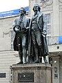 """Schiller und Goethe """"Wintermaerchen"""" Weimar 31.03.2013 (Германската пролет) - panoramio.jpg"""