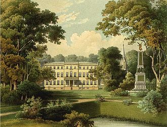 Hans Adam von Schöning - Schloss Tamsel, between 1857 and 1883