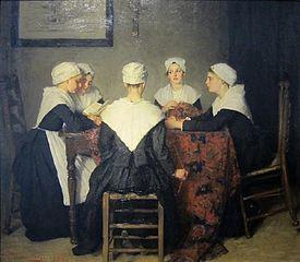 Vijf Amsterdamse wezen