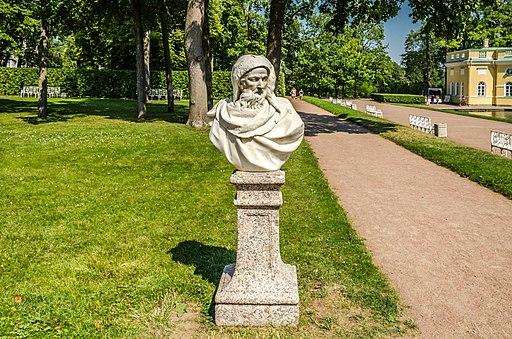 Sculpture Boreus in Tsarskoe Selo