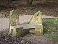 Sculptured stone seat at the Hemlock Stone - geograph.org.uk - 622258.jpg