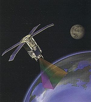 SeaWiFS - The SeaStar satellite, which carried SeaWiFS