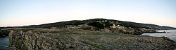 Panoramic view of Sea Ranch