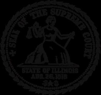 Supreme Court of Illinois - Seal of the Supreme Court of Illinois