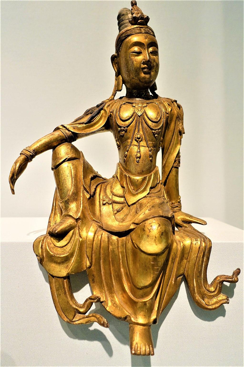 Seated Bodhisattva Avalokiteshvara - Guanyin (Asian Art Museum – San Francisco)