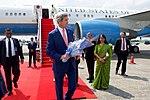 Secretary Kerry Arrives in Dhaka, Bangladesh (29024296540).jpg