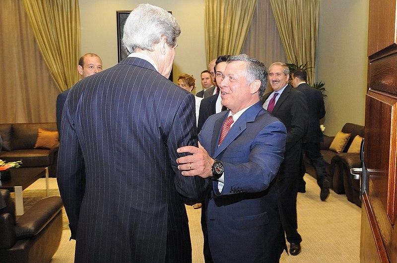 File:Secretary Kerry Meets With King Abdullah II Before World Economic Forum in Jordan.jpg
