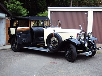 Lancefield Coachworks - Rolls-Royce 20-25 sedanca de ville