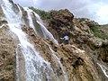 Sefidab Waterfall,Lar river,Almorz آبشار سفیداب از نزدیک - panoramio.jpg
