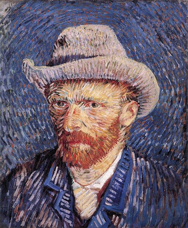 Fichier jpg Vincent Van self Wikipédia — By Gogh Portrait With Hat Felt YEH2IWD9