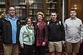Senator Stabenow meets with a family from Michigan. (25984256270).jpg