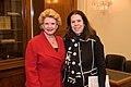 Senator Stabenow meets with a representative of the Michigan Society of Association Executives (32598967854).jpg