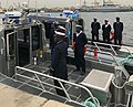 Senegalese Navy personnel board a 38 foot Defiant class patrol boat donated by the USA -a.jpg