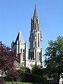 Senlis - Cathedrale vue du jardin du Roy 02.jpg