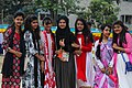 Seven Bangladeshi girls at Pohela Boishakh celebration 2016 (01).jpg