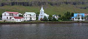 Seyðisfjörður - Image: Seyðisfjörður, Iceland