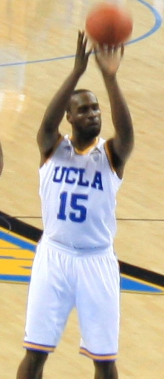 2012–13 UCLA Bruins men's basketball team - Shabazz Muhammad at Pauley Pavilion in December 2012