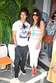 Shahid and Priyanka promote 'Teri Meri Kahaani' at Cocoberry 02.jpg