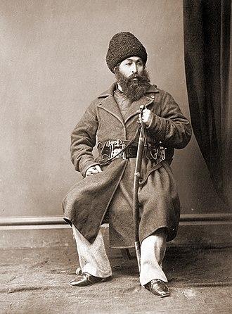Sher Ali Khan - Amir Sher Ali Khan in 1869