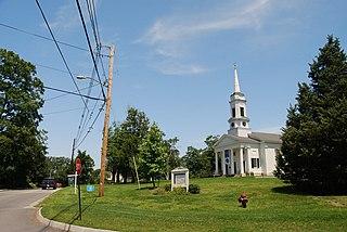 Sherborn Center Historic District