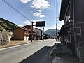 Shimane Prefectural Road No.13 in Morimura, Tsuwano, Kanoashi, Shimane 2.jpg