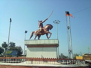 Pusad - Shivaji Chowk in Pusad