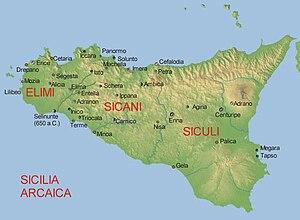 Sicels - Image: Sicilia arcaica