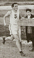 Sidney Hatch 1911beim Chicago-Marathon
