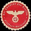 Siegelmarke Der Landrat des Kreises Dietfurt-Wartheland W0283526.jpg