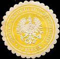 Siegelmarke Direktion der Provinzial - Heil - und Pflegeanstalt zu Rybnik W0211604.jpg