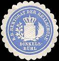 Siegelmarke Königlich Bayerische Rektorat der Realschule Dinkelsbühl W0235327.jpg