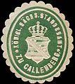 Siegelmarke Königlich Sächsisches Standesamt zu Callenberg W0252087.jpg