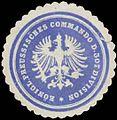 Siegelmarke K.Pr. Commando der 30t. Division W0387020.jpg