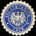 Siegelmarke Kgl. Gymnasium Prüm W0313872.jpg