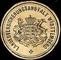 Siegelmarke Landesversicherungsanstalt Württemberg W0205255.jpg