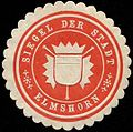 Siegelmarke Siegel der Stadt Elmshorn W0313721.jpg