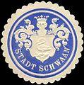 Siegelmarke Stadt Schwaan W0214074.jpg