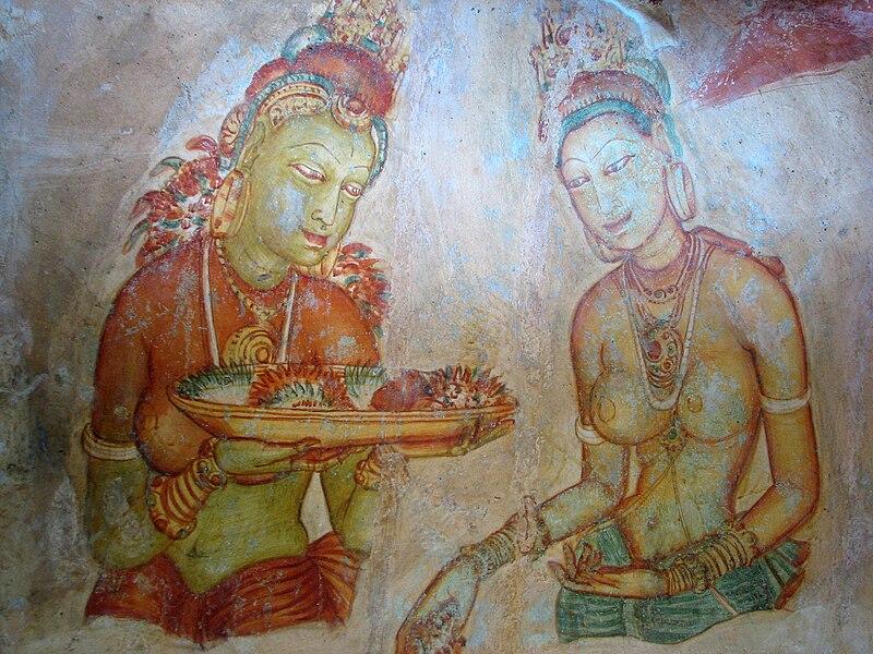 Файл: Sigiriya дамы 02.jpg