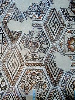 Римская мозаика найдена в Каллеве[en] (Сильчестер)