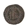Silvermynt, 1-2 öre, 1592? - Skoklosters slott - 109757.tif