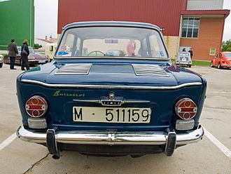 Simca 1000 - 1966-1968 Simca 1000 by Barreiros