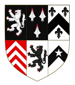 Sir Henry Cromwell alias Williams, Coat of Arms.png