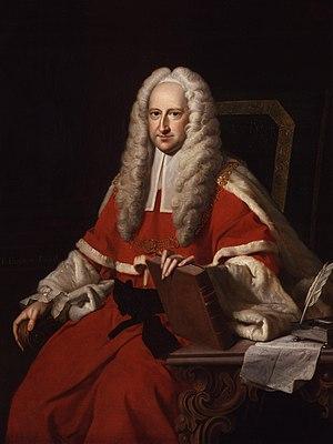 John Willes (judge) - Sir John Willes by Thomas Hudson.