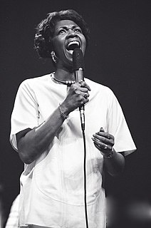 Cissy Houston American singer